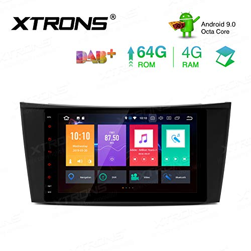 XTRONS Android 9.0 Car Stereo Octa Core 64G ROM 4G
