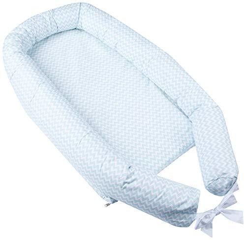 Ninho Antirrefluxo Papi Baby 79Cm X 50Cm X 18Cm, Papi Textil, Verde