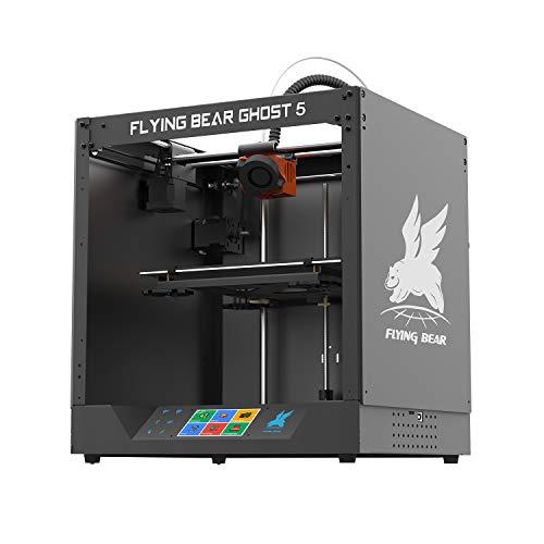 FLYING BEAR Ghost5 Stampante 3D Con touchscreen da 3,5 pollici Connessione WiFi DIY Macchina domestica fai-da-te Volume di stampa 255x210x200mm Funziona con PLA