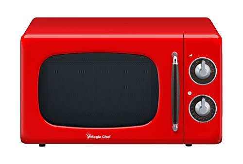 Magic Chef MCD770CR Retro Counter Top Microwave Oven