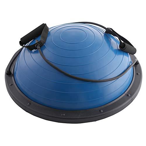 Sfeomi Balance Ball Balance Trainer Gleichgewichtstrainer Trampolinball Gymnastikball Fitness Balance Ball mit Zugbändern für Krafttraining Gleichgewichtstraining (Blau)