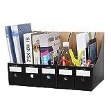 5 revisteros de papel kraft para revistas manualidades caja