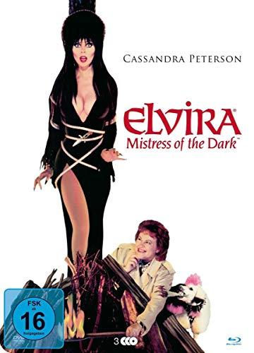 Elvira - Herrscherin der Dunkelheit (+ DVD / + Bonus-Blu-ray) (+ 3 Poster)