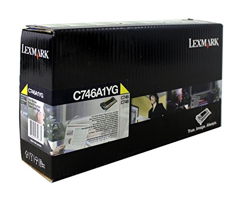 Cartucho de tóner C746A1YG Lexmark C748