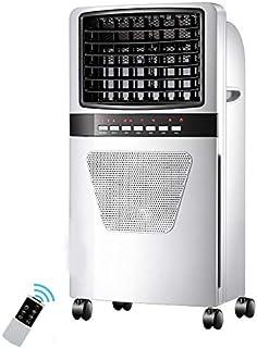 Refrigerador evaporativo, humidificación/purificación/Enfriador de Aire Control Remoto Sincronización Silencio Aire Acondicionado pequeño for Zonas de frío Interior 320 pies Cuadrados, 73 cm
