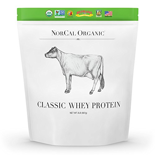 Source Classic Organic Whey Protein - 100% Grass-Fed and Grass-Finished - UNFLAVORED - Lecithin-Free - 2lb Bulk
