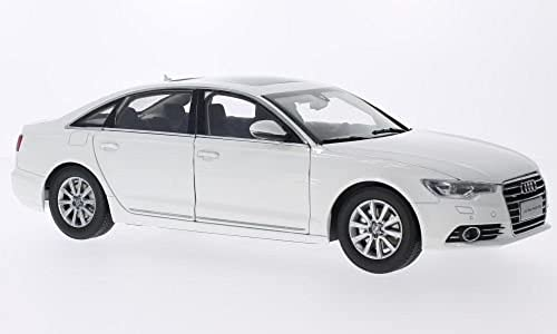Audi A6L C7), Asien-Version , Weißs, 2012, Modellauto, Fertigmodell, Paudi 1 18