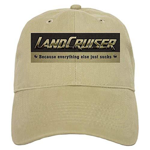 Land Cruiser Cap - Baseball Cap with Adjustable Closure, Unique Printed Baseball Hat