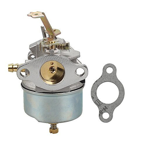 Buckbock 632230 632272 Carburetor Carb for Tecumseh 5 HP 6 HP 631828 631067 631067A H30 H50 H60 HH60 HH70 Engines 4 Cycle Engine Troy Bilt Tiller Toro Snowblower Sears Tillers 47279 Carburetor