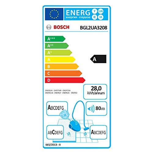 Bosch Electroménager BGL2UA3208 Zakloze stofzuiger