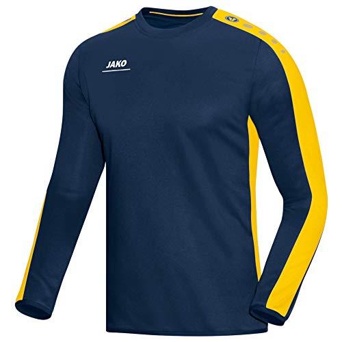 Jako Striker Sweat-Shirt pour Homme M Bleu Marine/Jaune