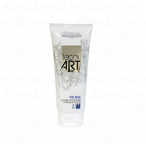 Loreal Professionnel Tecni Art Fix Max Gel 6 - Shaping Gel For Extra Hold Pack of 2 (200ml*2)