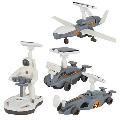 PRENKIN 4 en 1 Lunar Kits de Robots Flota de Exploración ni