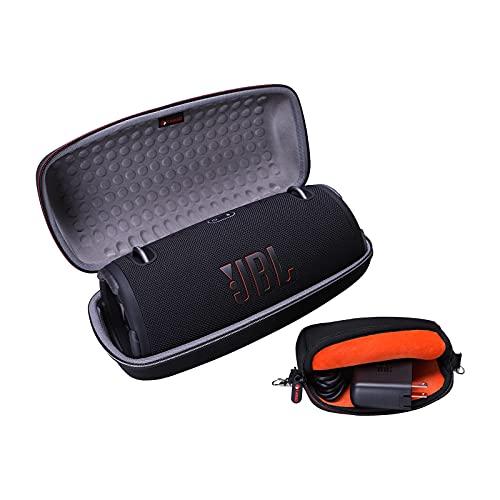 XANAD Hart Reise Tragen Tasche für JBL Xtreme 3 / JBL Xtreme 2 Musikbox in Schwarz Wasserdichter portabler Stereo Bluetooth Speaker - Schutz Hülle