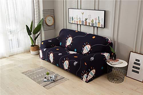 PPMP Sala de Estar Moderna Cubierta de sofá geométrica elástica Sala de Estar Cubierta de sofá elástica sofá Inferior Cubierta de Silla de sofá A1 1 plazas