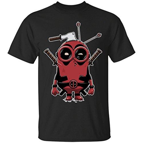 minionpool Minions Divertido Dibujos Animados de cómics de Marvel Deadpool t-Shirt-Unisex