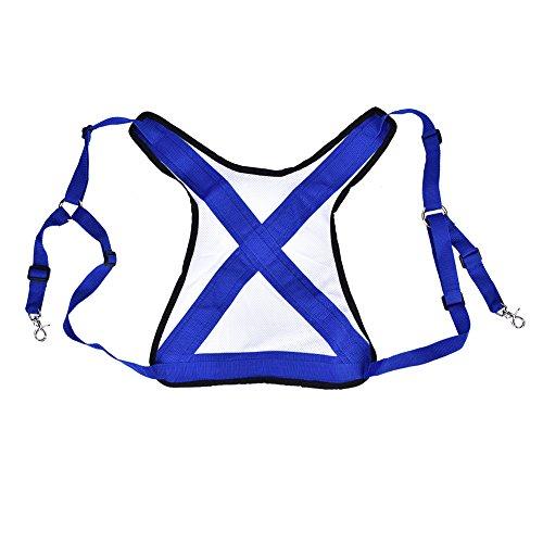 Fishing Vest Belt PVC Practical Ultralight Fishing Vest Belt Adjustable Shoulder Harness Tackle Equipment For Outdoor Fishing