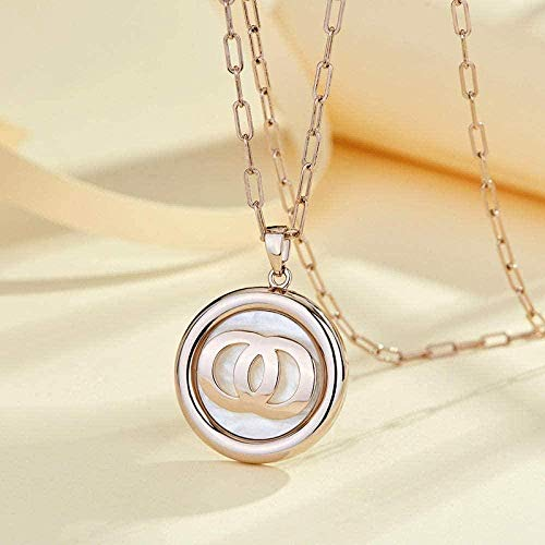 NONGYEYH co.,ltd Necklaces Sweater Chain Choker Necklace Clavicle Chain European and American Beaded Sweater Chain Female Crystal Necklace Jewelry-AA