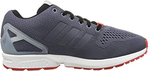 adidas Originals ZX Flux AF6315, Unisex-Erwachsene Low-Top Sneaker, Grau (Onix/Onix/Core Black), EU 43 1/3