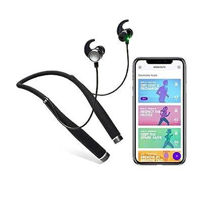 Vi Personal Assistant (Live Fitness Coaching via AI Artificial Intelligence) Wireless Bluetooth Headphones with Harmon/Kardon Audio (Renewed)