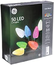 GE Color Effects 50-Count 32.6-ft Multi-Function Warm White Color Changing Led Plug-in Christmas String Lights