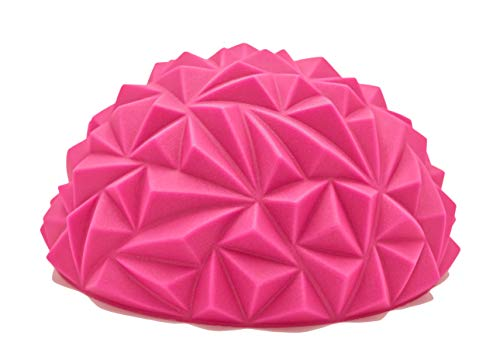 Hedgehog Balance & Stability Trainer - Safer/Better Tumbling, Stunting, Conditioning - Flyers and Bases - Strengthens Ankles & Stabilizer Muscles - Perfect Body Positions - Cheer, Gymnastics, Yoga