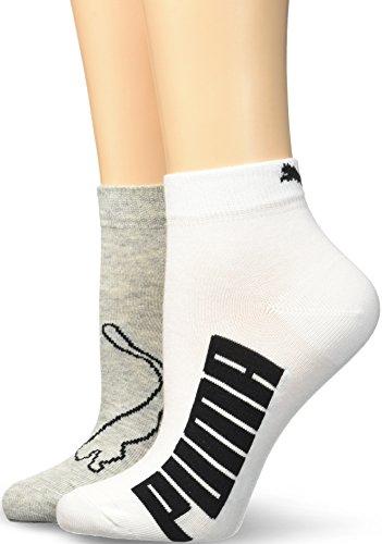 Puma Lifestyle, Calze Sport Donna, Multicolore (White/Grey/Black), 35/38