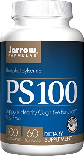 Jarrow Formulas PS 100, Supports Healthy Cognitive Function, 100 mg, 60 Softgels