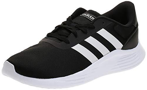 Adidas Lite Racer 2.0, Sneaker Mens, Core Black/Footwear White/Core Black, 46 EU