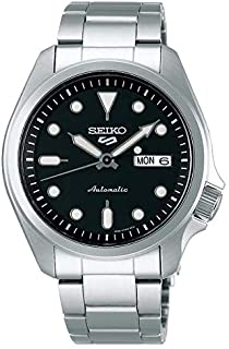 Seiko Sport 5 Facelift Automatic Stainless Steel Watch SRPE55K1