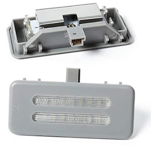 Do!LED A10G LED SMD Make Up Spiegel Schminkspiegel Beleuchtung Plug & Play Kalt Weiß - graues Gehäuse