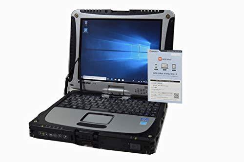 ノートパソコン 【OFFICE搭載】 タッチスクリーン Panasonic TOUGHBOOK CF-19 第3世代 Core i5 3340M XGA 10.4インチ 8GB/500GB/ドライブ非搭載/WiFi対応無線LAN/Bluetooth/Windows 10 デジタイザーペン付属