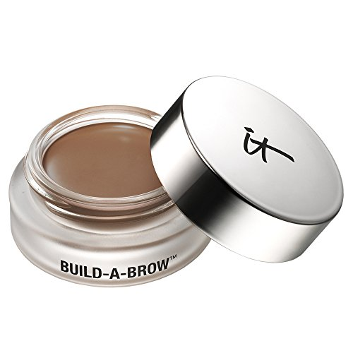 it Cosmetics Build-A-Brow Waterproof 5-in 1 Micro Fiber Creme Gel Stain (Universal Taupe)