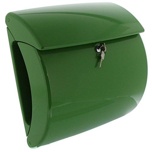 BURG WÄCHTER Kunststoff Briefkasten PIANO 886 Fresh Green