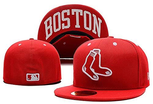 Primavera Y Verano Gorra De Beisbol Sombreros Ajustados Gorras De Béisbol Boston...