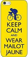 iPhone/Xperia/Galaxy/他機種選択可:携帯ケース/自転車デザイン(KEEP CALMシリーズ:マイヨ・ジョーヌ) 05 iPhone7