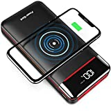 Best Power Bank With Smart Charges - Wireless Portable Charger 25000mAh Power Bank with 3 Review