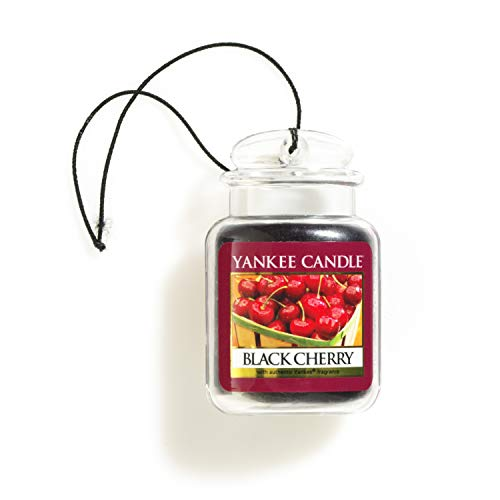 Yankee Candle 1221000E Deodoranti per Auto, Car Vaso Ultimate, Black Cherry