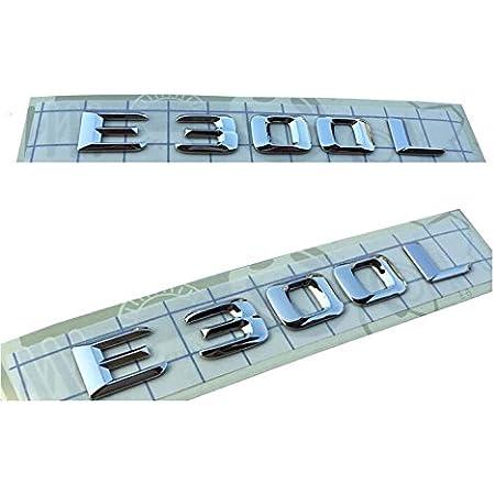 E681 E350 Emblem Badge Auto Aufkleber 3d Schriftzug Hinten Abziehbild Car Sticker Plakette Auto