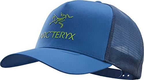 Arcteryx Logo Trucker Cap, Cobalt Sun, ONE Size