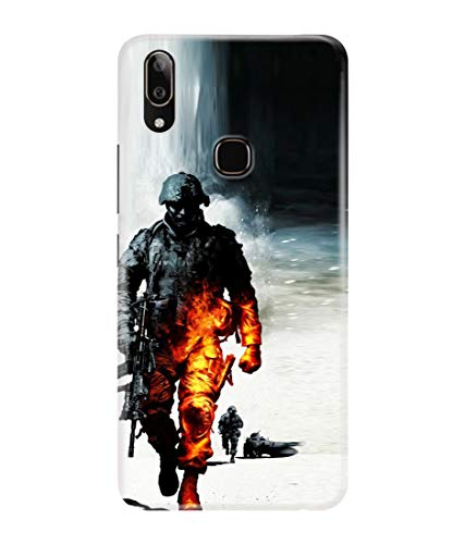 LETAPS Printed Colorful Indian Army, Army Lover, Proud India Designer Back Case Cover for vivo V9 / V9 Pro (Multicolour)