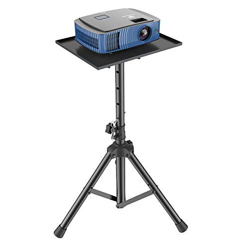 Projector Laptop Stand, Multifunctional DJ Racks Stand, Adjustable Height Tripod, Foldable Notebook Computer Stand, Perfect for Office, Home, Stage or Studio by AMADA HOMEFURNISHING AMPS01