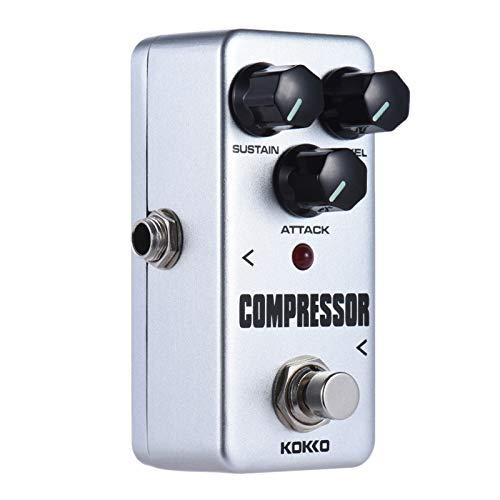 Sangmei Fcp2 Mini Compressor Pedal portátil Efeito Guitarra Pedal