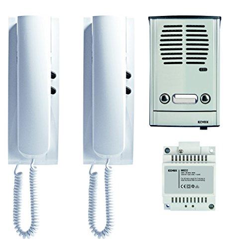 Kit Türsprechanlage 2Fam ELVOX 885E Außenbeleuchtung