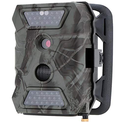"""LMYMX Wildkamera 12MP 1080P HD, Jagdkamera 120°Weitwinkel Vision Infrarote 32 ft / 10m, Zeitschaltuhr, mit 2,4\"""" LCD Display für Jagd und Sicherheit zu Hause"""