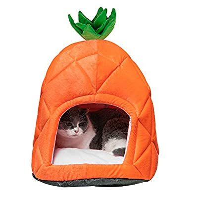 Pet House Pineapple Cave Sleep Bed Cat Dog Tent...