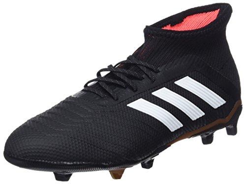 adidas adidas Unisex-Kinder Predator 18.1 FG Fußballschuhe, Schwarz Cblack Ftwwht Solred Cblack Ftwwht Solred, 36 EU