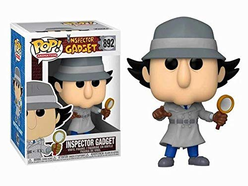USA OFFICIAL Inspector Gadget Funko Pop 892 Figuras 9 cm Serie TV Cartón animado Penny Bravo