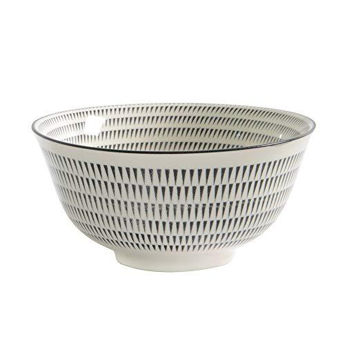 ProCook Porzellan - tiefe chinesische Reisschale - schwarz - Medium