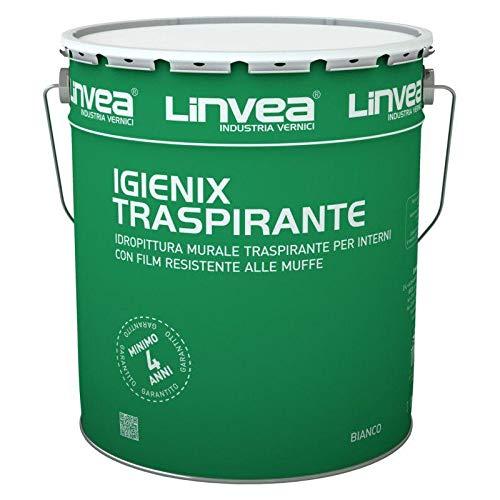 TRASPIRANTE ANTIMUFFA IGENIX PITTURA MURALE 14L. LINVEA